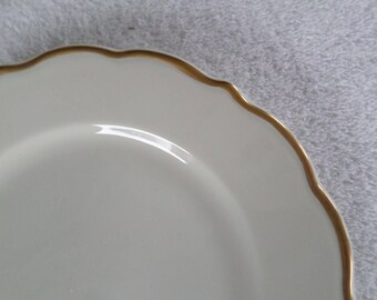 Vintage Syracuse China Luncheon Plate Gold Rim 10 Available