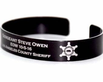 Sergeant Steve Owen Memorial Bracelet