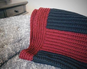 The Jasper Crochet Throw Pattern/ PDF Crochet Pattern/Crochet throw/home decor/Simple Crochet /beginner crochet pattern/ crochet home decor