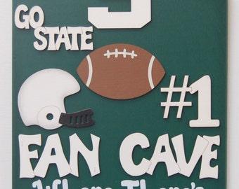 Michigan Man Cave Signs : Titans football sports man cave sign