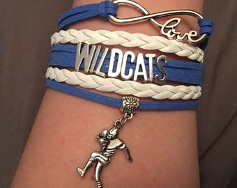 Kentucky football bracelet