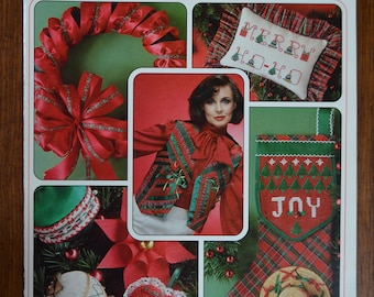 Offray 100 Ribbon Christmas Ideas Project Book 2