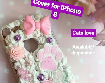 Cover I love cats for iphone 8