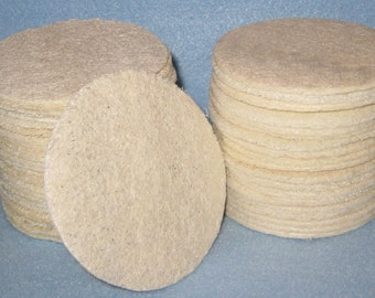 Loofah  Complexion Pads 12CT-Round Facial Pads - Loofahs Discs,  Exfoliation Complexion Discs.