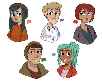 Oxenfree Stickers