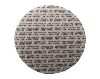58 mm Pressure Sensitive PS Foam Cap Liners Seal Tamper Seal Sealed for your Protection US Seller