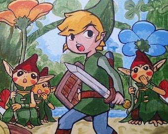 Legend of Zelda: Minish Cap Painting