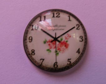 Glass cabochons Clock Theme 20mm