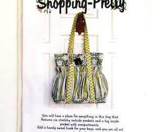 Pattern Shopping Pretty Purse Tote Bag New Pattern