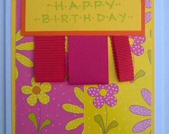 Card | Bright and Cheerful Happy Birthday
