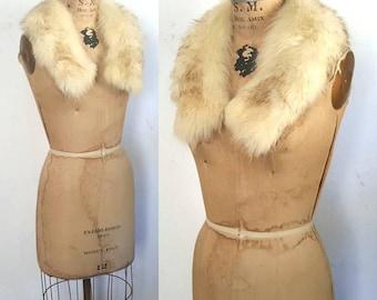 Genuine Fox Fur Collar / Small
