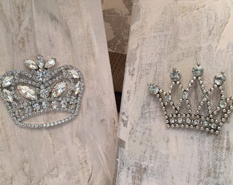 CROWN OF Righteousness  - Scripture Inspired Rhinestone Crown Canvas