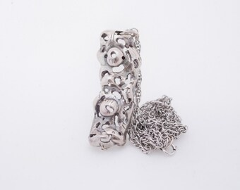 Sterling Silver Totem necklace