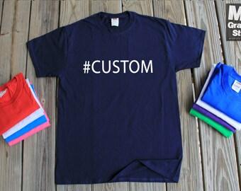 Custom T-Shirt  #custom Personalized Gift Shirt Personalized T Shirt Instagram Shirt Funny Shirt Customized Shirt Custom Instagram Shirt