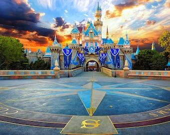 Disneyland Disney Sleeping Beauty Magic Castle Picture