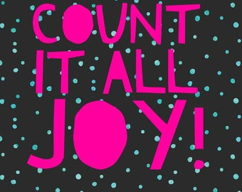 Count it all joy!