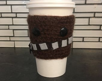 Chewbacca cup cozy
