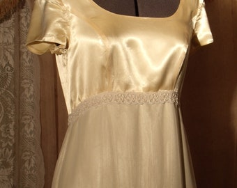 Vintage Dress for a Special Occasion, Prom, or Wedding, Size 10 - 12, 1970's