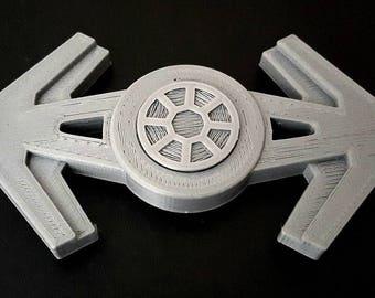 Custom Star Wars Tie Fighter Fidget Spinner - EDC Desk Toy - Focus Tool JEDI