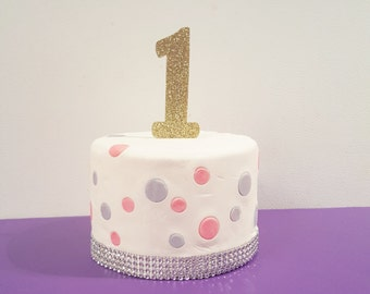 First birthday cake topper Birthday Cake Topper 1st Birthday Cake Topper boys birthday girls birthday one year old photo prop cake topper on