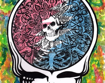 Grateful Dead Skeleton