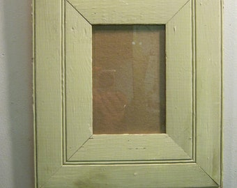 SHABBY ARCHITECTURAL Chic Salvaged Recycled Wood Photo Picture Frame 5x7 S-625-12