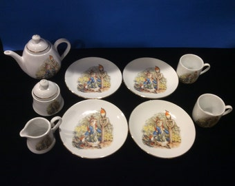 Peter Rabbit and Friends Child's Dishes
