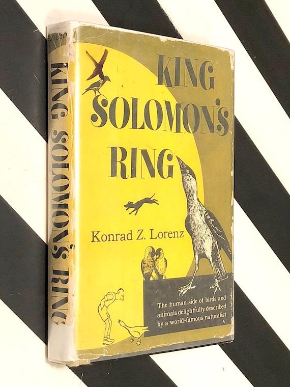 King Solomon's Ring by Konrad Lorenz (1952) hardcover book