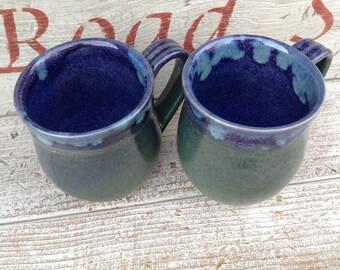 Handmade Mug, Pottery Mug, Coffee Mug