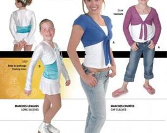 Jalie 2558 - Boleros / 27 Sizes / Child & Adult