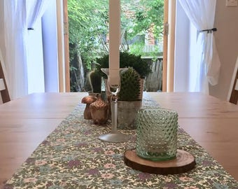 Luxury Floral Print Table Runner | Kitchen & Dining Room