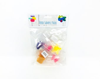 Food Scents Sample Pack - Pure Soy Wax Melts - Sampler - Mixed Scents - Desserts - Scented Soy Wax Tarts - Candle Melts - Gifts for Her
