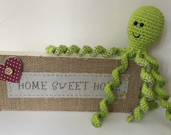 Handmade crocheted Octopus