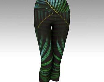 Jungle Yoga Pants - Leggings, Eco-friendly, Nature