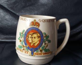 T.G.Green coronation mug George VI 1937