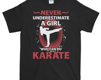 Karate Girl, Martial Arts Gift, Karate Woman, Funny Gift, Never Underestimate, Taekwondo