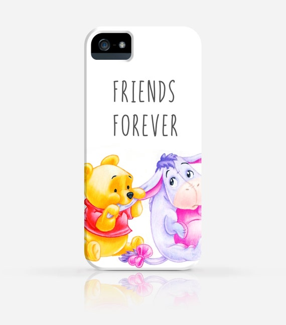 Items Similar To Baby Pooh Eeyore Friends Forever IPhone 6 Case 5 5c 4 Samsung Galaxy S5 Hard Plastic