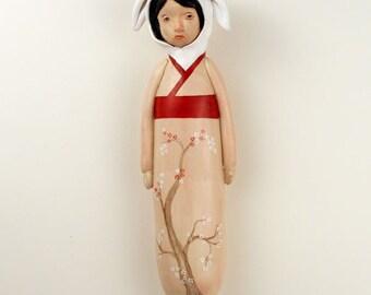 cherieko with red sash