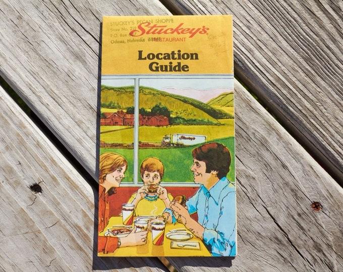 Stuckey's Location Guide from The Stuckey's Pecan Shoppe Odessa Nebraska