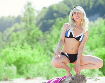 Made to Order White-Widow HERO-KINI by SciFeyeCandy SpiderGwen inspired Bikini