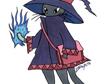 Mage Cat Sticker