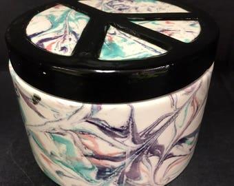 Ceramic Peace Box