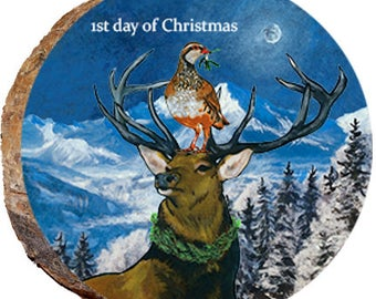 1st Day of Christmas Elk - DX213