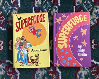 Superfudge by Judy Blume - Two 2 Fantastic vintage hardcover copies 1980