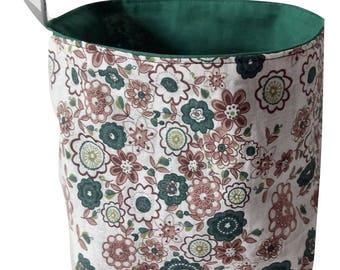 Reversible Fleur storage basket