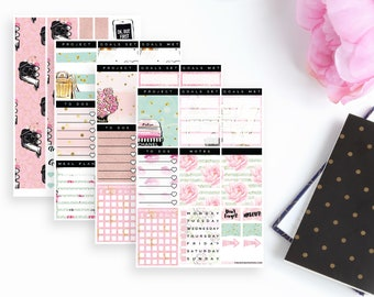 Girl Boss Project Planning With Intent Sticker Kit   55 Stickers