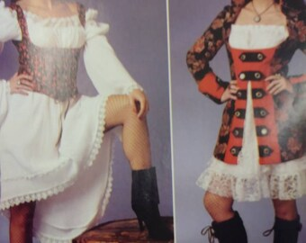 Pirate or Wench Sewing patterns