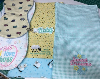 Baby Burp Cloth Gift Pack