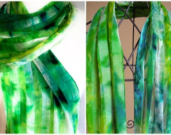 Unique  Devore Velvet Scarf