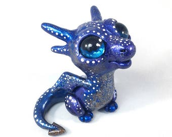 Galaxy Baby Dragon Sculpture